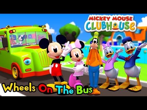 Mickey Mouse Clubhouse Wheels On The Bus
