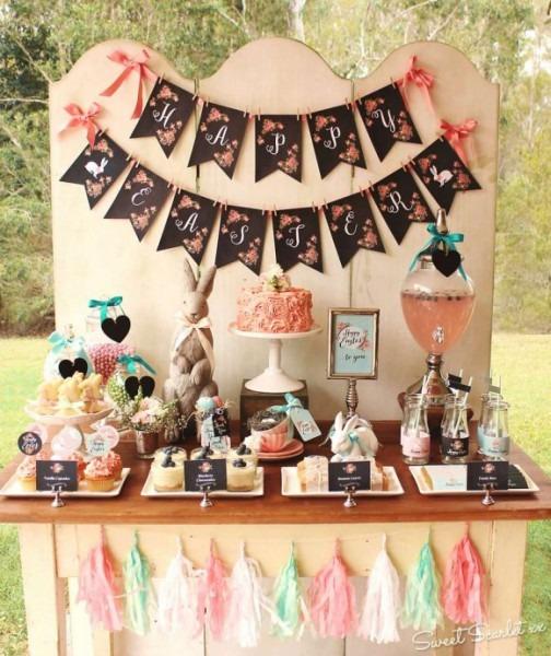10 Easter Dessert Table Ideas!