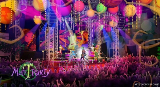 Down The Rabbit Hole  Disneyland's New  Alice In Wonderland