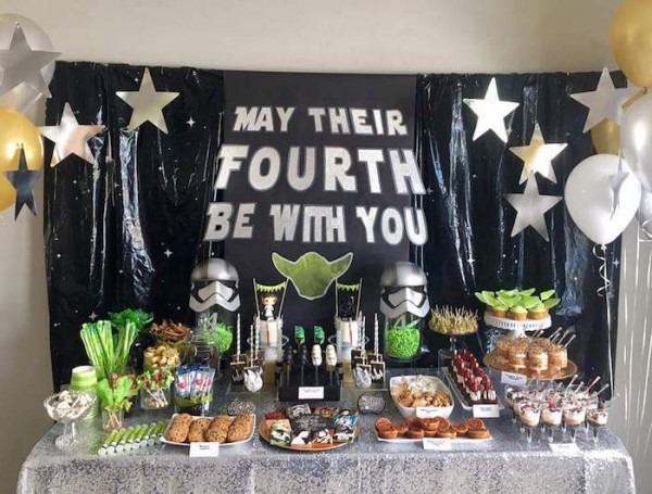Kara's Party Ideas  May Their Fourth Be With You  Star Wars 4th