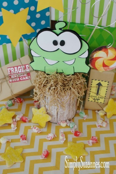 Simply Suzanne's At Home  Cut The Rope       Om Nom Birthday! Part