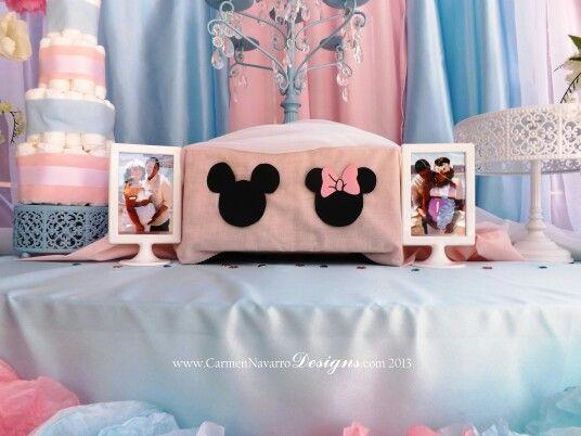 Minnie & Mickey Baby Shower! Twins ! It's A Boy & Girl