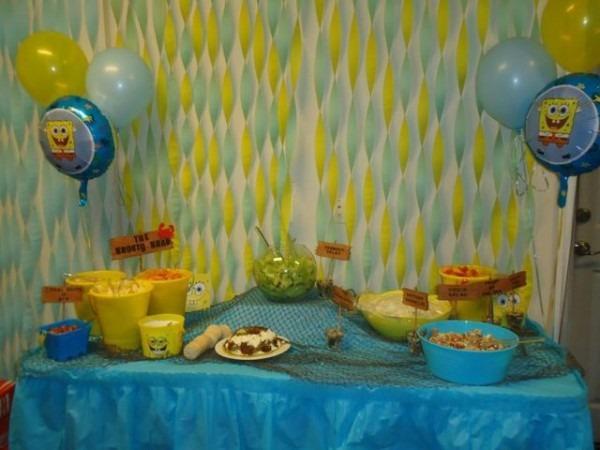Spongebob Square Pants Birthday Party Ideas