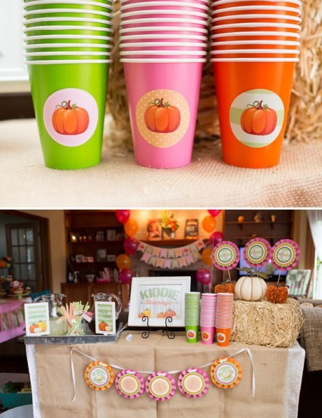 Adorable Little Pumpkin Birthday Party {fall Harvest