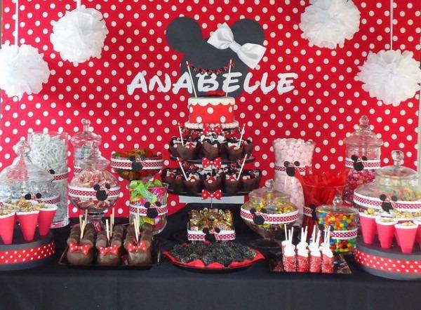 Minnie Mouse Sugar Station