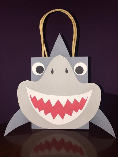Shark   Party Favor Goodie Bags   Birthday   Ocean   Beach   Jaws