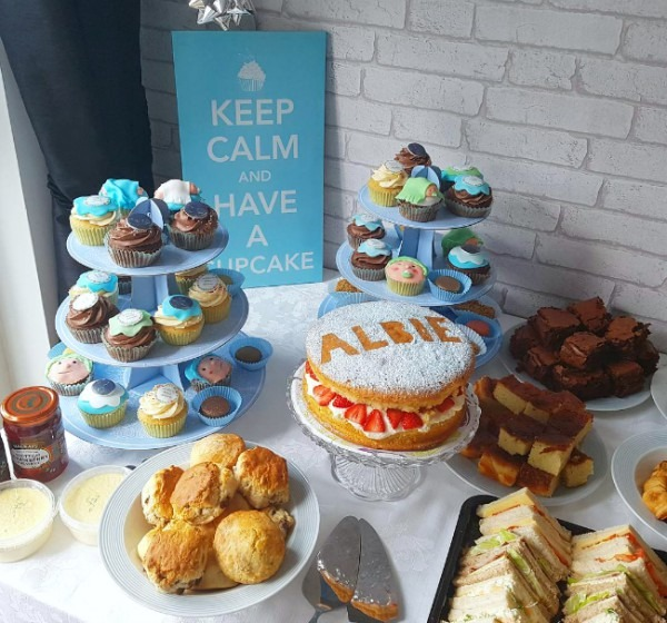 Kirsty Burrage  My Afternoon Tea Themed Baby Shower