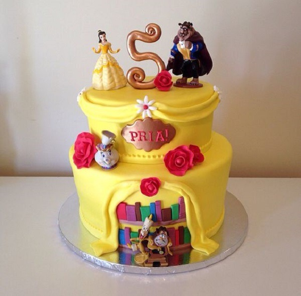 Beauty And The Beast Birthday Party Ideas Best For Little Girls