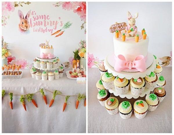 Kara's Party Ideas Bunny Birthday Party