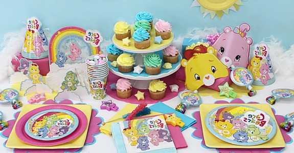 The Perfect Care Bears Party Supplies