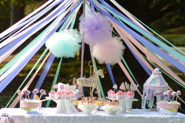Vintage Carousel Party Via Blossom