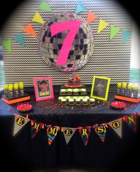 Glow Birthday Party Birthday Party Ideas In 2019