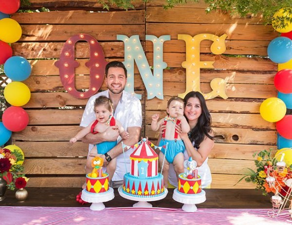 Animal Circus First Birthday Party