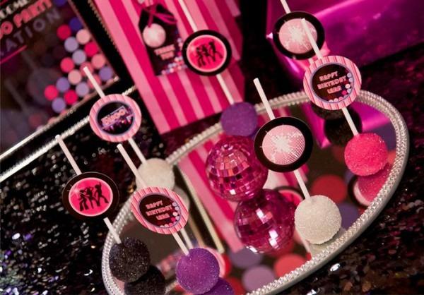 Kara's Party Ideas Pink Disco Teen Tween Girl Birthday Party