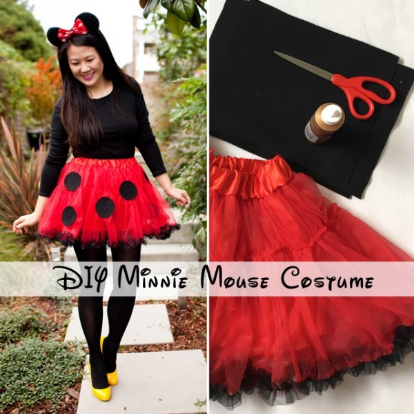 Diy Minnie Mouse Costume