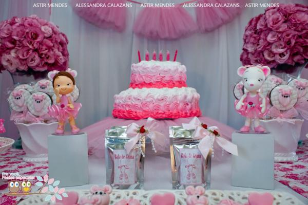Kara's Party Ideas Angelina Ballerina Ballet Girl Dance Birthday