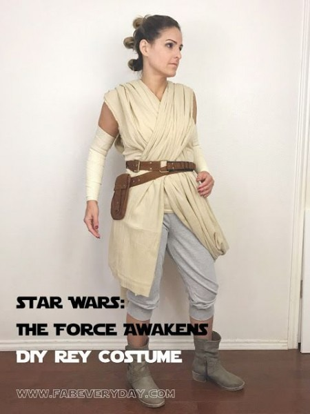 Star Wars  The Force Awakens Family Halloween Costumes