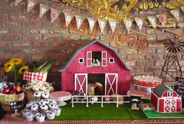 Kara's Party Ideas Old Mcdonald Farm Themed Birthday Party
