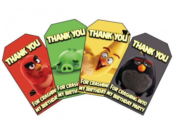 Angry Birds Movie Themed Birthday Favor By Cre8ivedesign On Zibbet