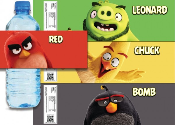 Angry Birds Movie Inspired Birthday Party