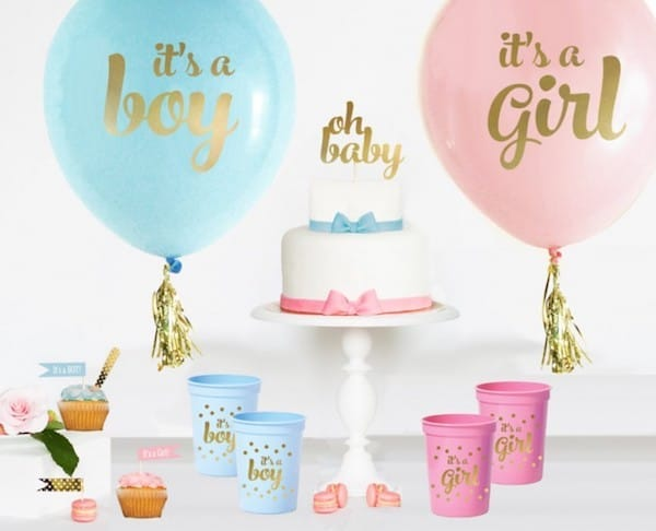 10 Baby Gender Reveal Party Ideas