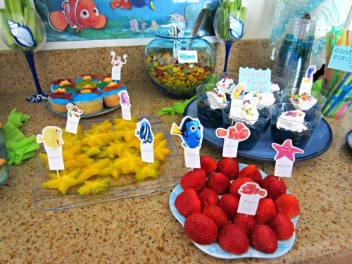How To Host Diy A Finding Nemo Party  Disneyside