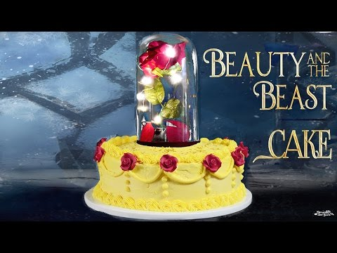 How To Make A Beauty And The Beast Cake