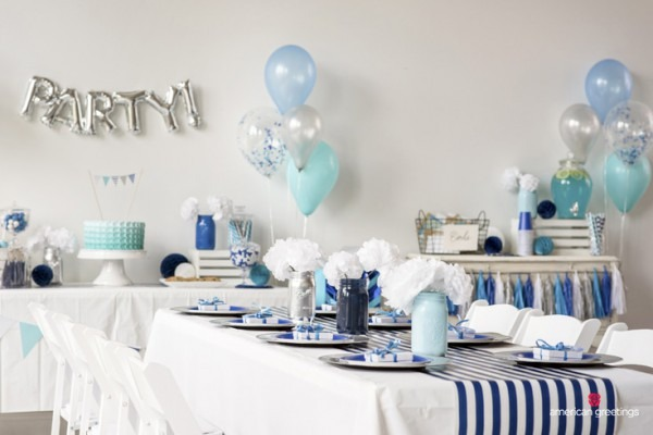 Blue Birthday Party Ideas