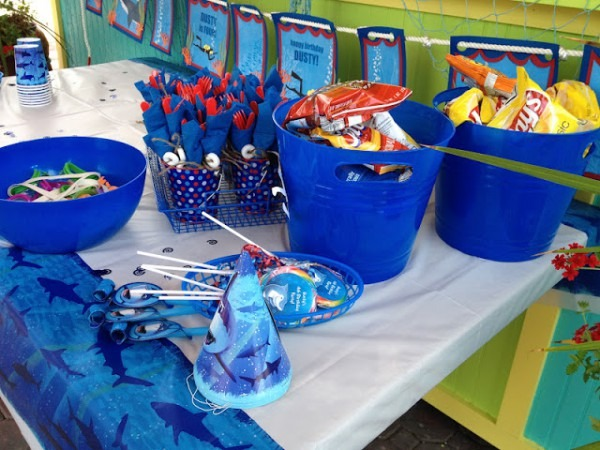 Flip Flops & Pop Tarts  It's All About A Shark Birthday Party