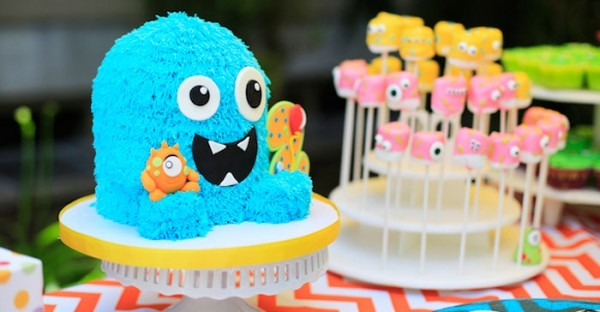 Kara's Party Ideas Darling Little Monster Birthday Party