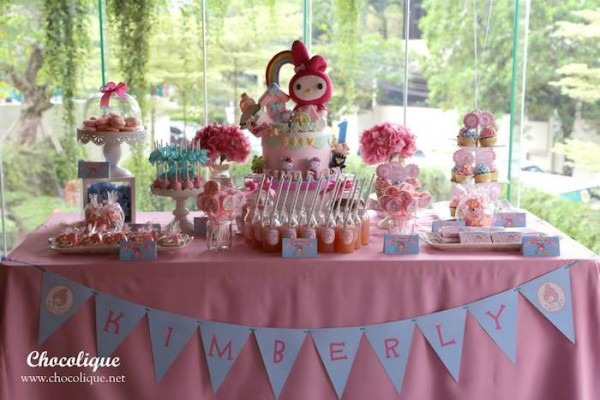 Kara's Party Ideas My Melody Dessert Table {birthday, Party
