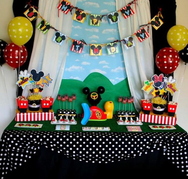 Kara's Party Ideas Mickey Mouse Clubhouse Birthday Party Planning