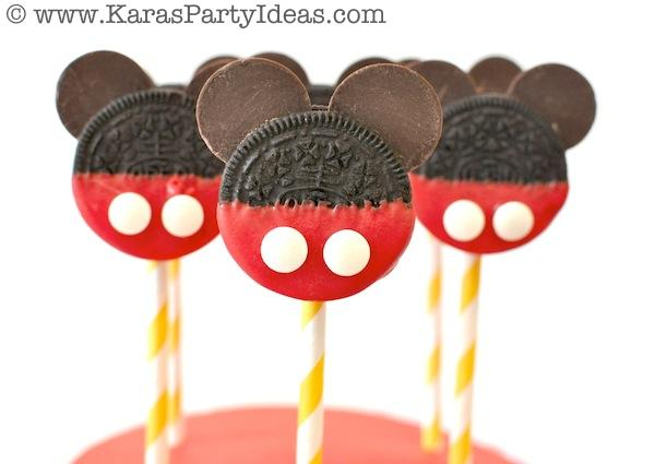 Kara's Party Ideas Mickey Mouse Themed Birthday Party Planning