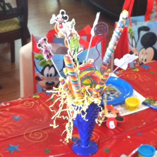 Mickey Mouse Clubhouse Party Decoration Ideas 37 Best Fatdaddy 2nd