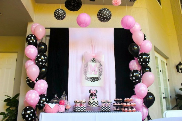 Kara's Party Ideas Minnie Mouse Themed Birthday Party {ideas