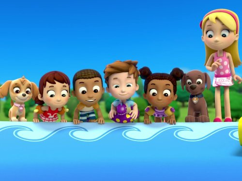 Paw Patrol  Pups Save A Pool Day Circus Pup Formers (tv Episode