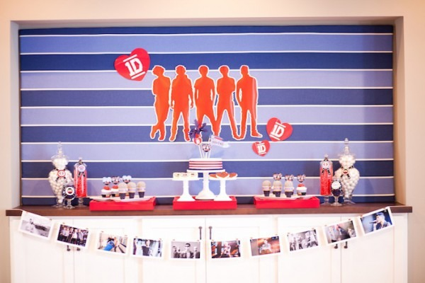 Kara's Party Ideas One Direction Birthday Party {ideas, Party