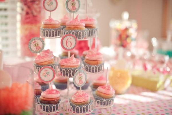 Kara's Party Ideas Sweet Shoppe 6th Birthday Party
