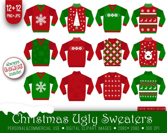 Printable Pictures Of Ugly Christmas Sweaters – Festival Collections