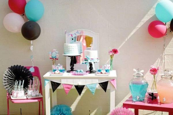 Kara's Party Ideas Salon Themed Birthday Party {ideas, Decor