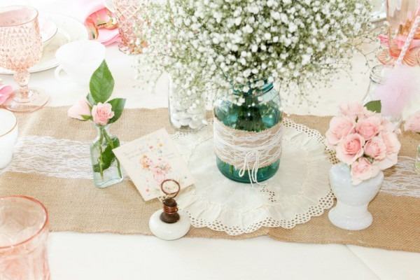 Vintage Southern Garden Themed Baby Shower