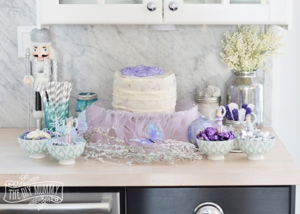 Sugar Plum Fairy Nutcracker Ballerina Party Ideas + Diy Glitter