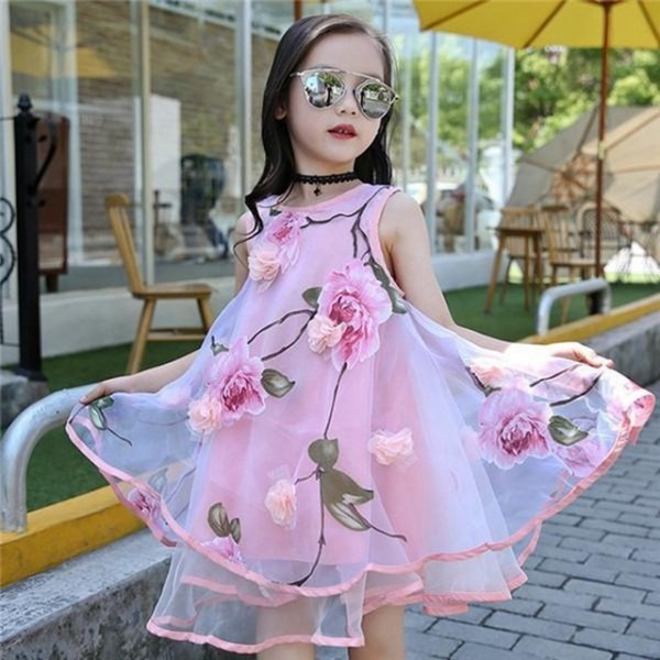 Summer Dress For Girls Toddlers Teen Princess Clothing Kids Party