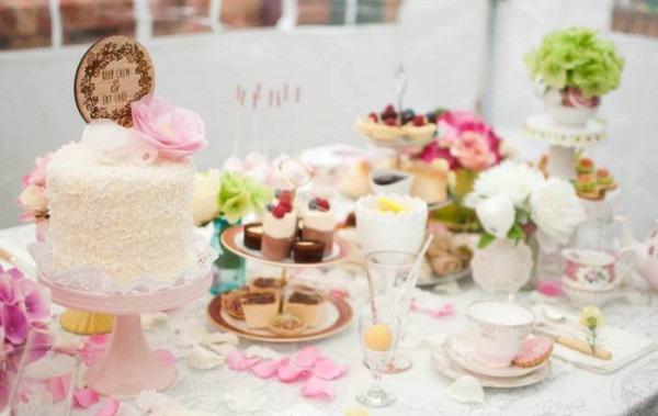 Kara's Party Ideas Floral Tea Party {ideas, Decor, Planning