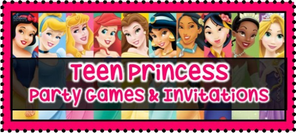 Teen Princess Party Games
