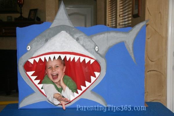 Shark Birthday Party  Unique Decorations, Games, Invitations