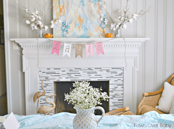 Fawn Over Baby  Southern Chic Tea Party Themed Baby Shower