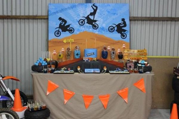 Dirt Bike Birthday Party Planning Ideas Supplies Idea Cake
