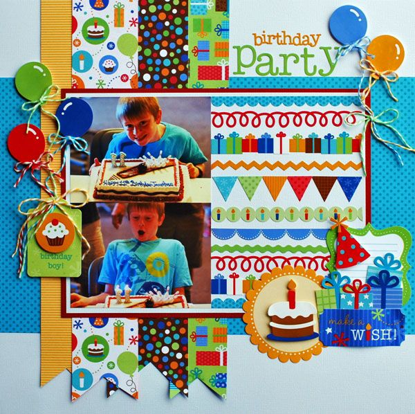1000+ Images About Birthday Layouts On Party Ideas Blog