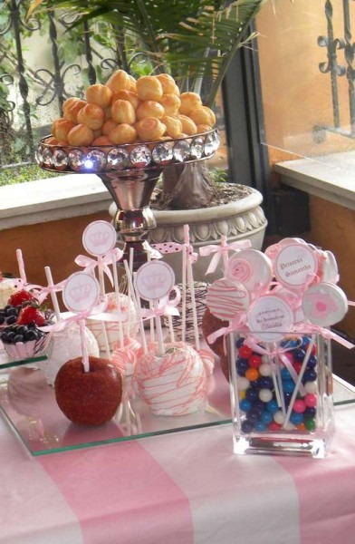 Inspired By Juicy Couture Baby Shower Party Ideas